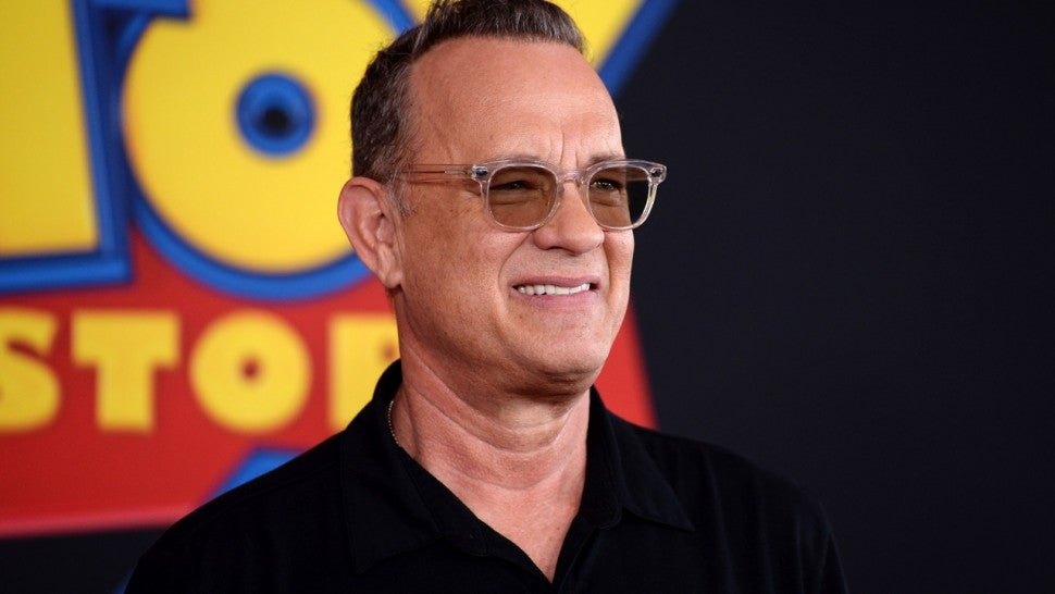 Tom Hanks at the premiere of 'Toy Story 4' in Hollywood on June 11