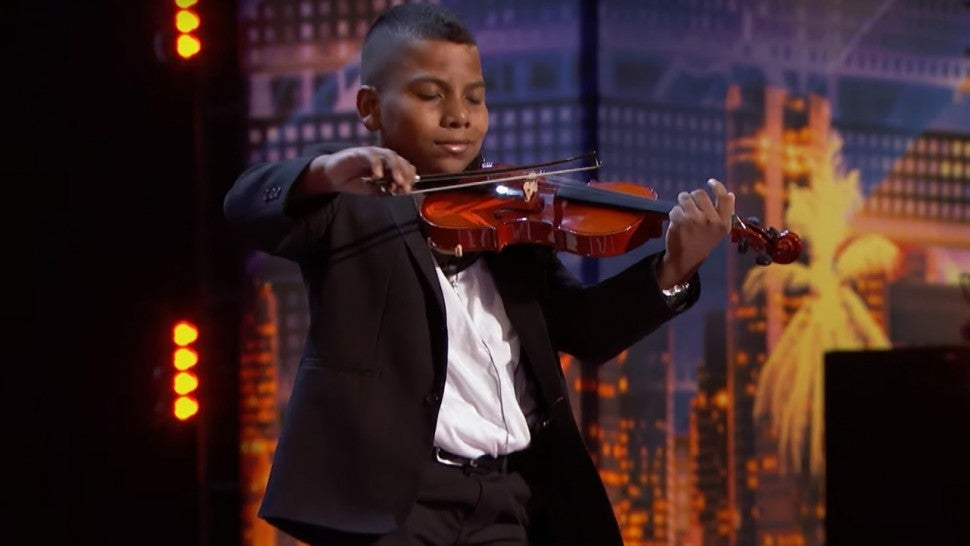 Tyler Butler Figueroa on 'America's Got Talent'