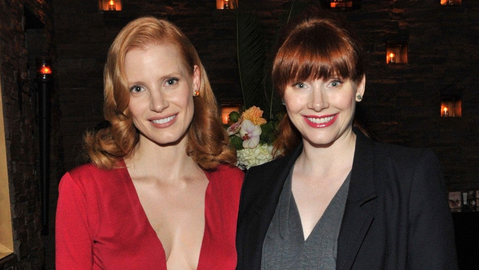 Jessica Chastain Says Ron Howard Once Confused Her with His Daughter Bryce Dallas Howard
