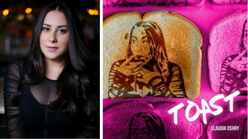 'The Morning Toast' host Claudia Oshry debuts her first single, 'Toast,'