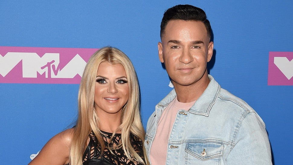 Mike 'The Situation' Sorrentino and Wife Lauren Welcome First Child: 'Jersey Shore' Cast Reacts (Exclusive).jpg