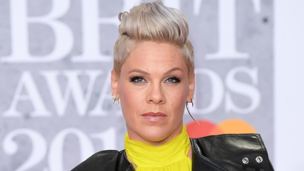 Pink Defends Photo of Her Kids Running in Holocaust Memorial