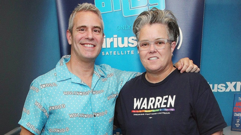 Rosie O'Donnell, Andy Cohen