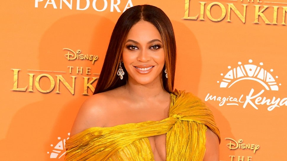 Beyonce at Lion King premiere in london