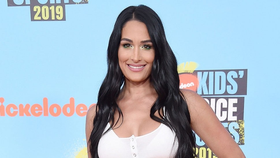 nikki bella at Nickelodeon Kids' Choice Sports 2019