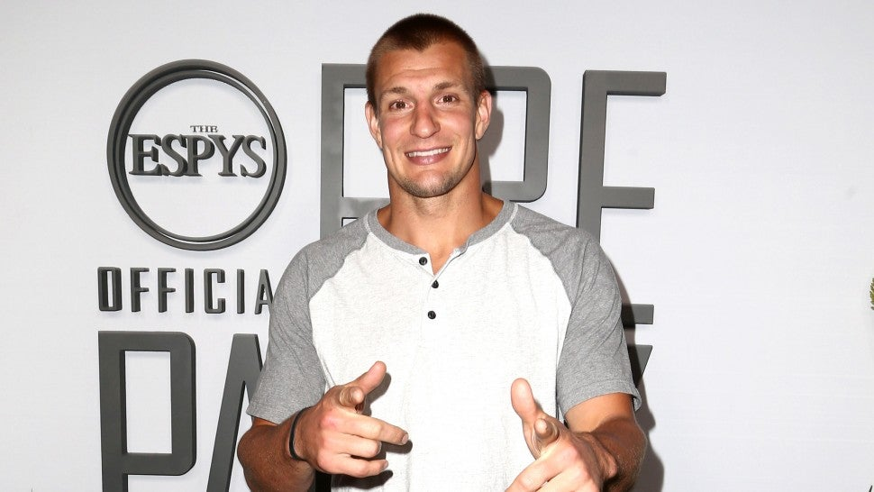 Rob Gronkowski hosts the ESPN's The ESPYS Official Pre-Party