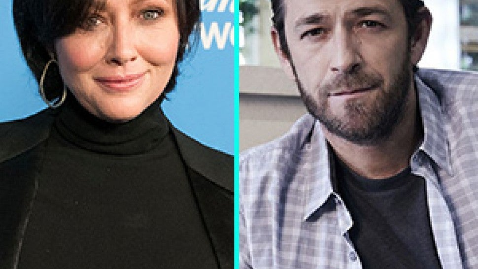 Shannen Doherty and Luke Perry from 'Riverdale'