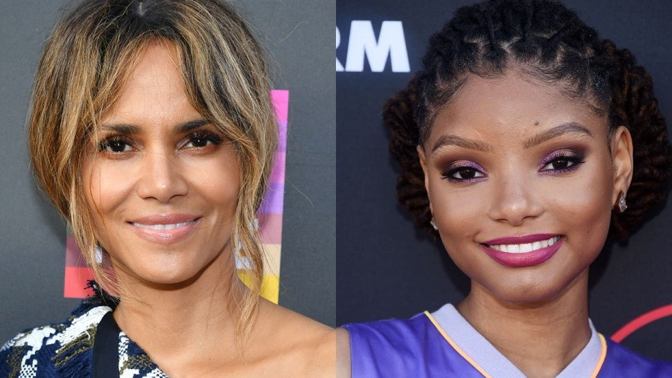 Halle Berry and Halle Bailey