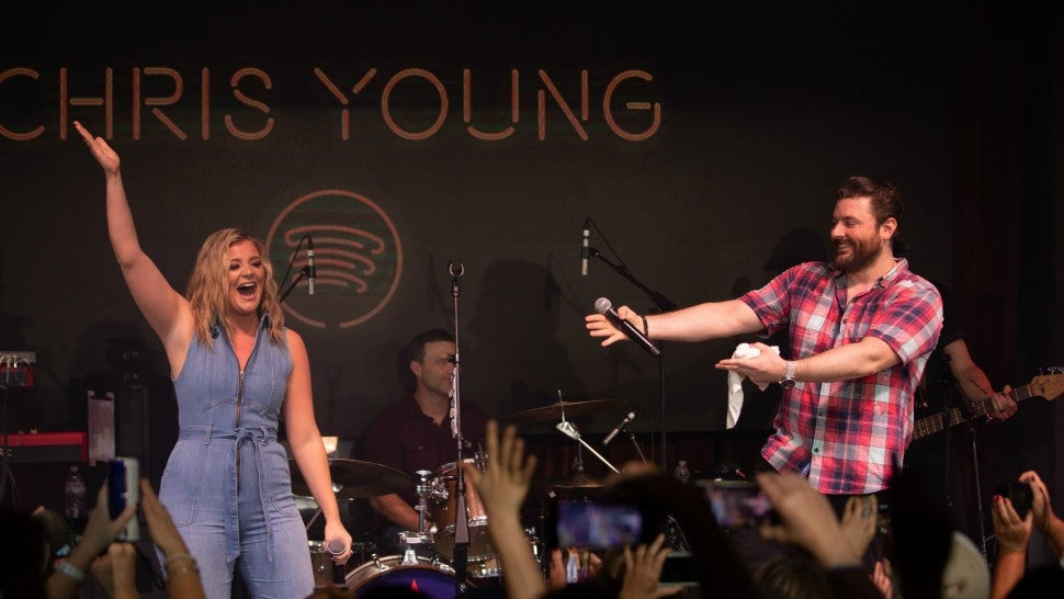 Chris Young Discusses New Breakup Anthem 'Town Ain't Big Enough' Featuring Lauren Alaina (Exclusive)