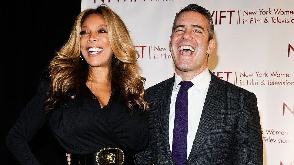Wendy Williams and Andy Cohen attend New York Women In Film And Television's 33rd Annual Muse Awards at New York Hilton on December 12, 2013 in New York City