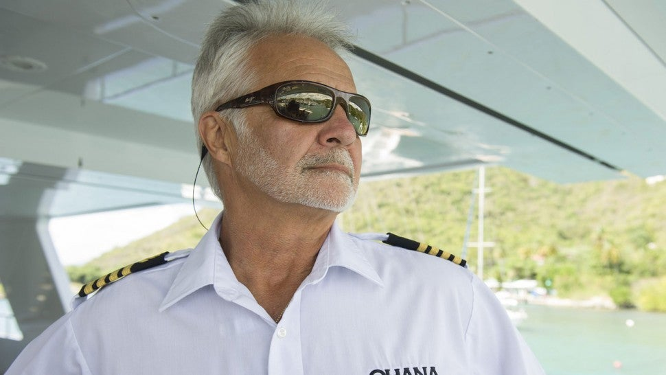 'Below Deck' star Captain Lee Rosbach