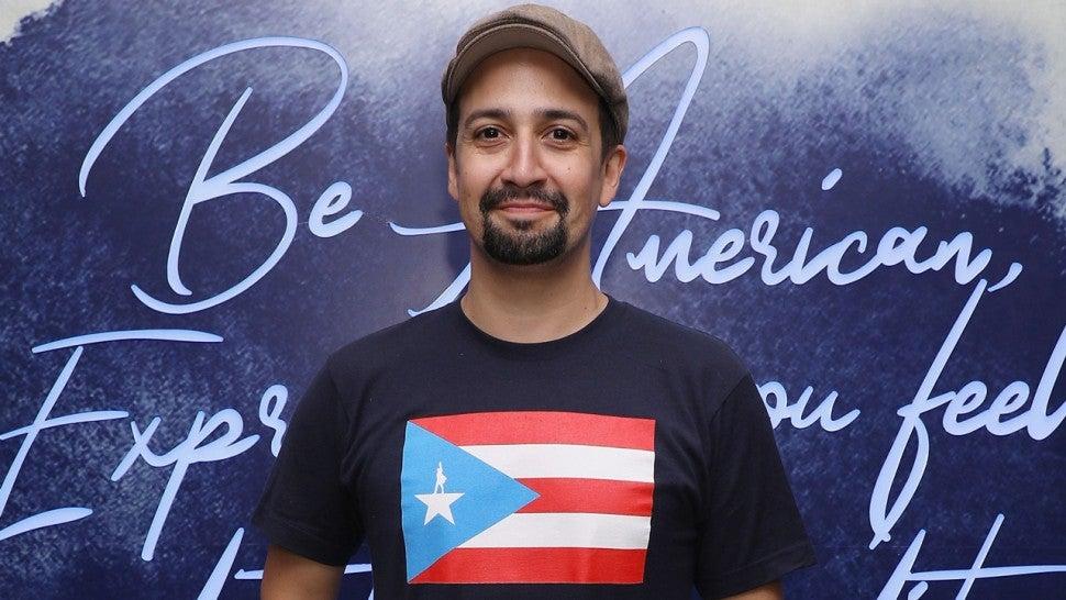 Lin Manuel Miranda Daddy Yankee J Balvin And More Celebrate Puerto