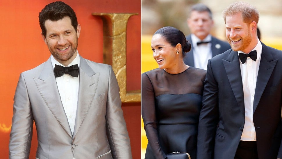 Billy Eichner Meghan Markle Prince Harry Lion King premiere