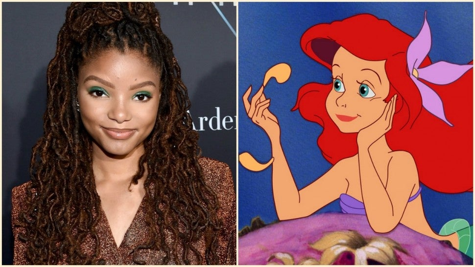 Image result for halle bailey as ariel