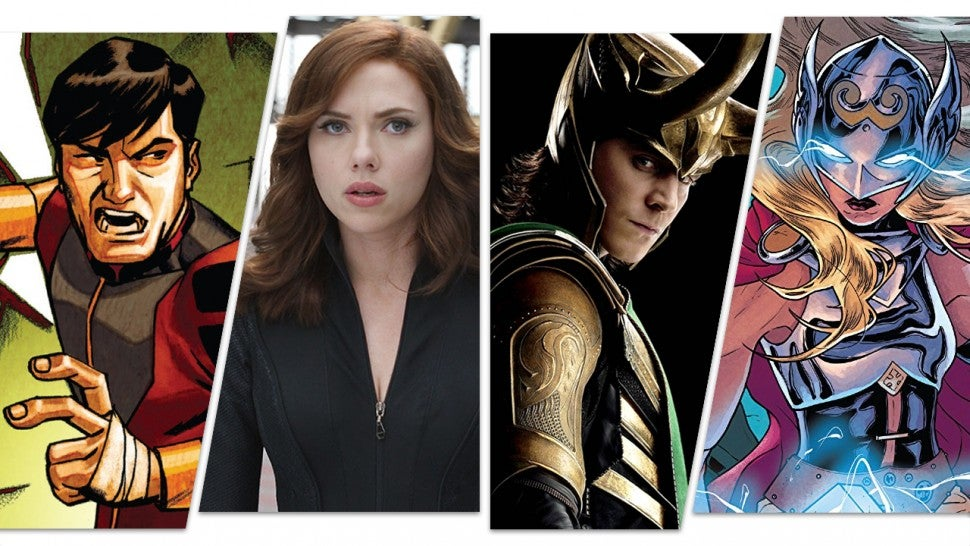 Upcoming Marvel Movies: The Full List From 'The Eternals' to