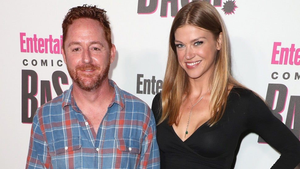 Adrianne Palicki and Scott Grimes