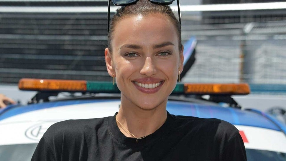 Irina Shayk Sets Pulses Racing at Formula E Championship Following Split From Bradley Cooper