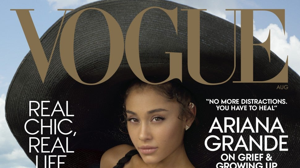 Ariana Grande for 'Vogue' magazine