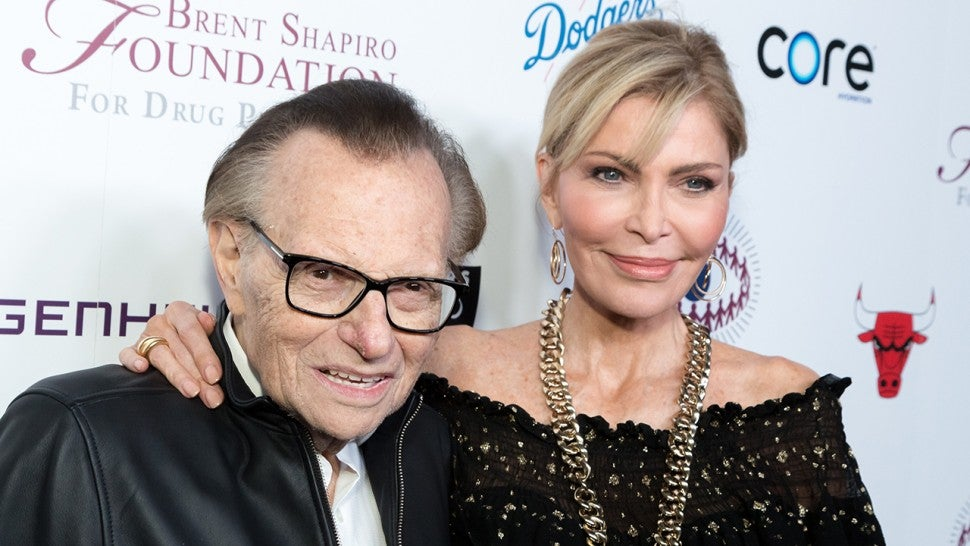 Larry King files for divorce from 7th wife, Shawn