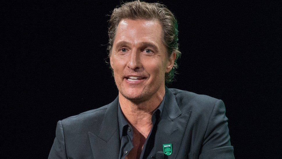 Actor Matthew McConaughey will teach course at University of Texas this fall