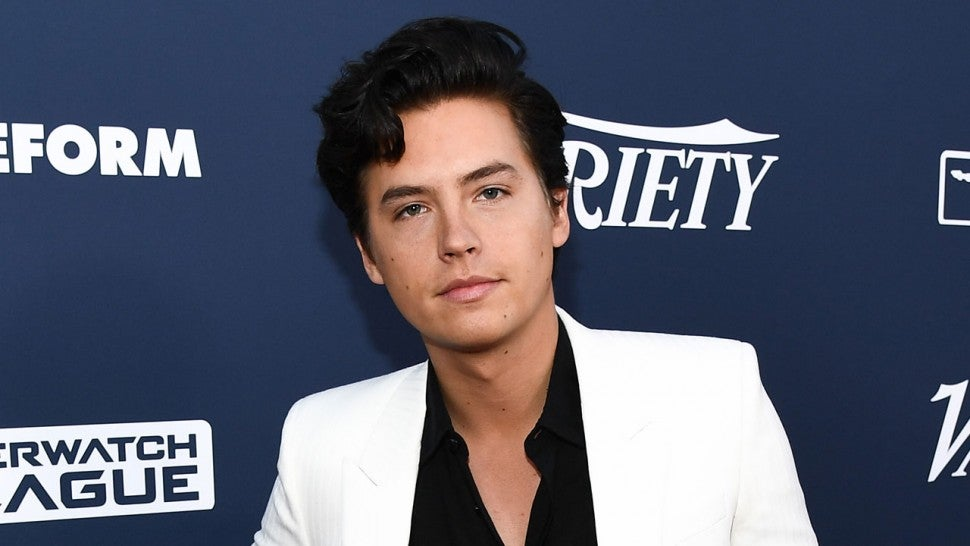 Cole Sprouse at Variety Power of Young Hollywood