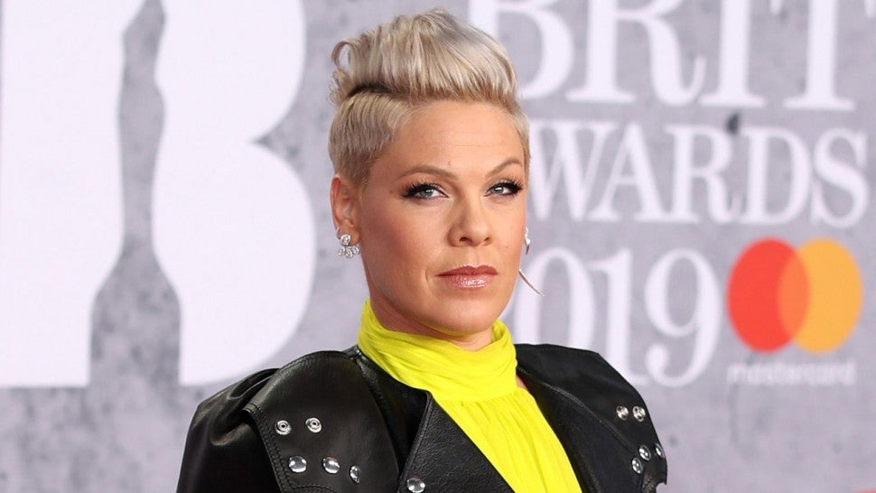 Pink at 2019 Brit Awards