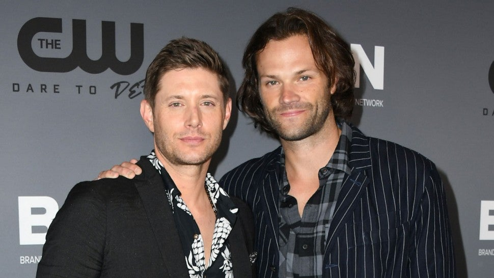 Jensen Ackles and Jared Padalecki at the The CW's Summer 2019 TCA Party