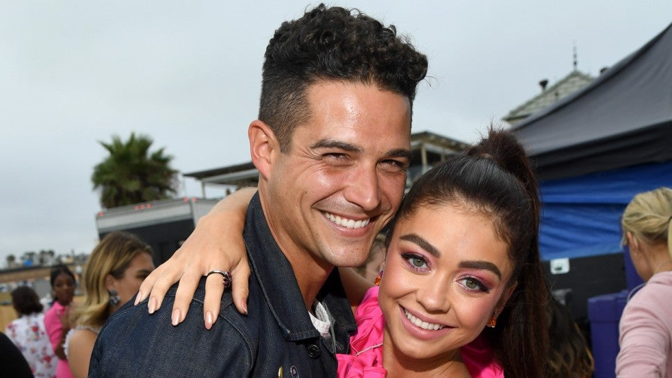 Sarah Hyland and Wells Adams Celebrate Their Love With Fun