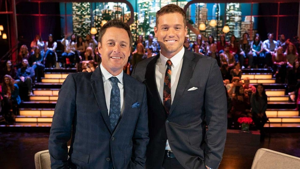 Chris Harrison and Colton Underwood