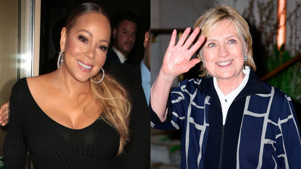Hillary Clinton Responds After Mariah Carey Refers To Her As 'President'