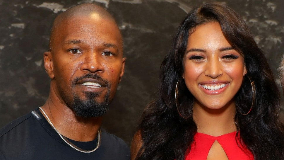 Jamie Foxx and singer Sela Vave