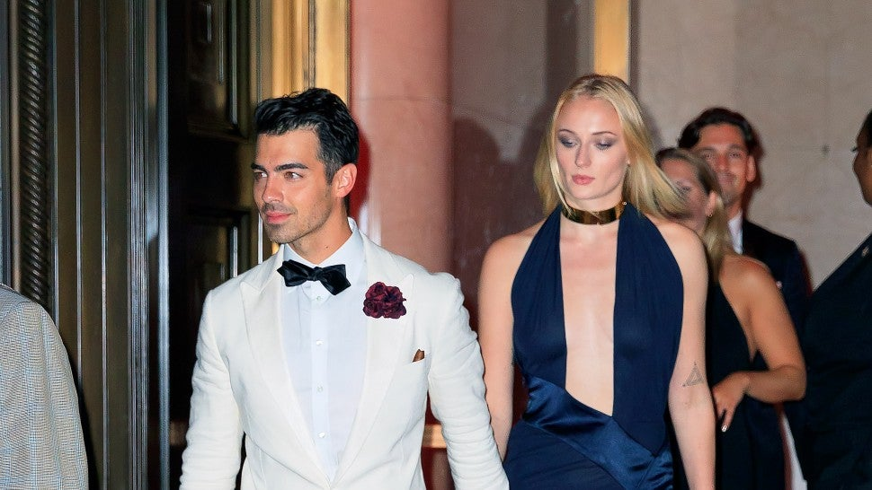 Joe Jonas dressed as James Bond for his 30th birthday