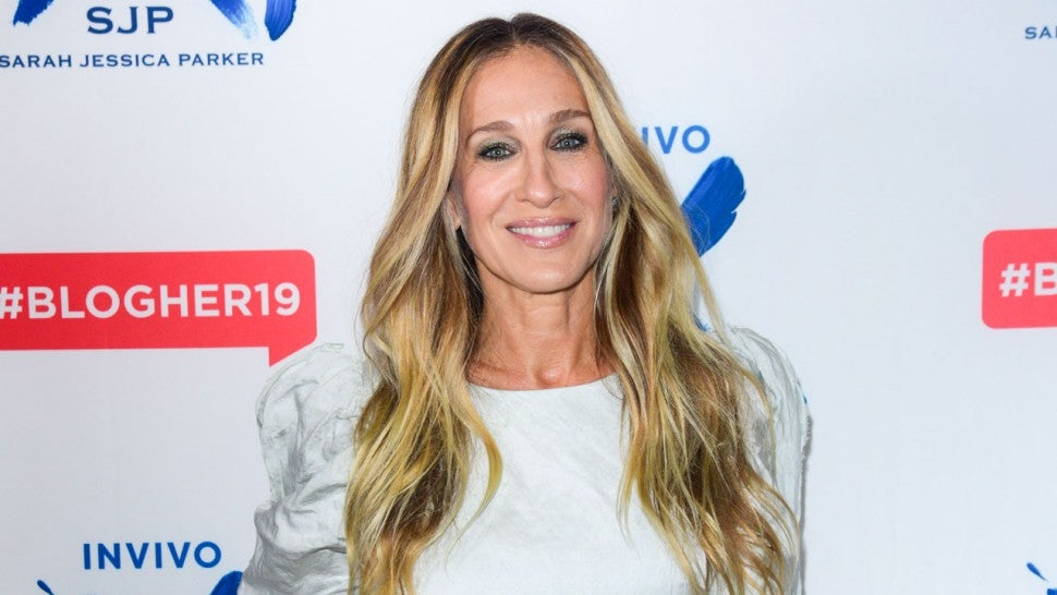 sarah jessica parker at blogher conf