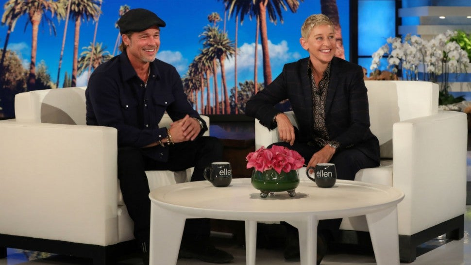 Prime Brad Pitt Learns Ellen Degeneres Dated One Of His Ex Ocoug Best Dining Table And Chair Ideas Images Ocougorg