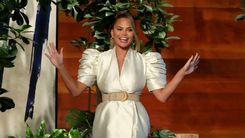 Chrissy Teigen Shares A Look At Her Epic Maleficent