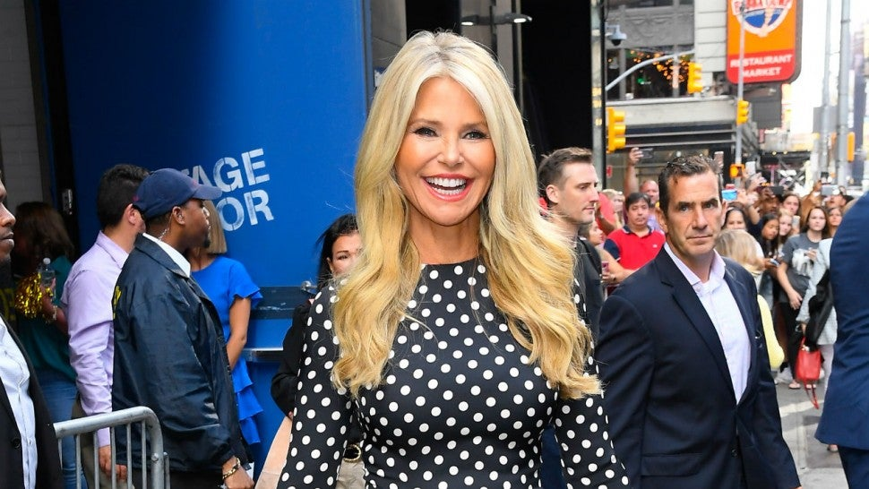 Christie Brinkley breaks arm during 'Dancing with the Stars' rehearsals