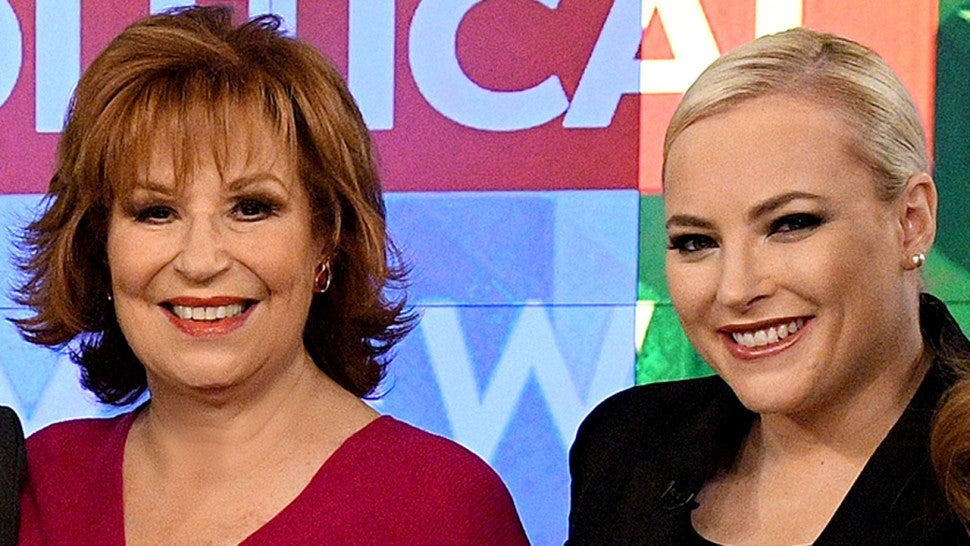 Meghan McCain Joy Behar The View