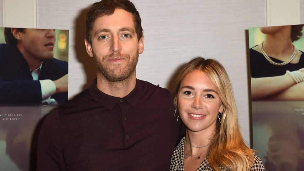 Thomas Middleditch and Mollie Gates at A24 screening