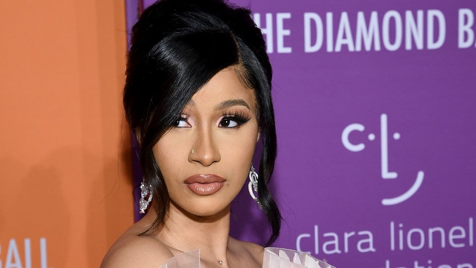 Cardi B Diamond Ball