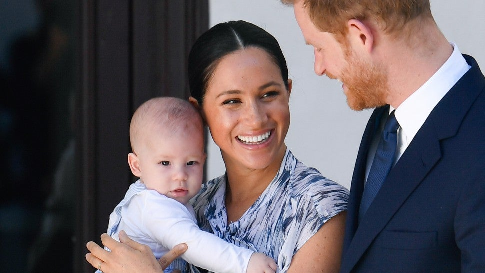 cutest pics of meghan markle and prince harry s son archie entertainment tonight cutest pics of meghan markle and prince