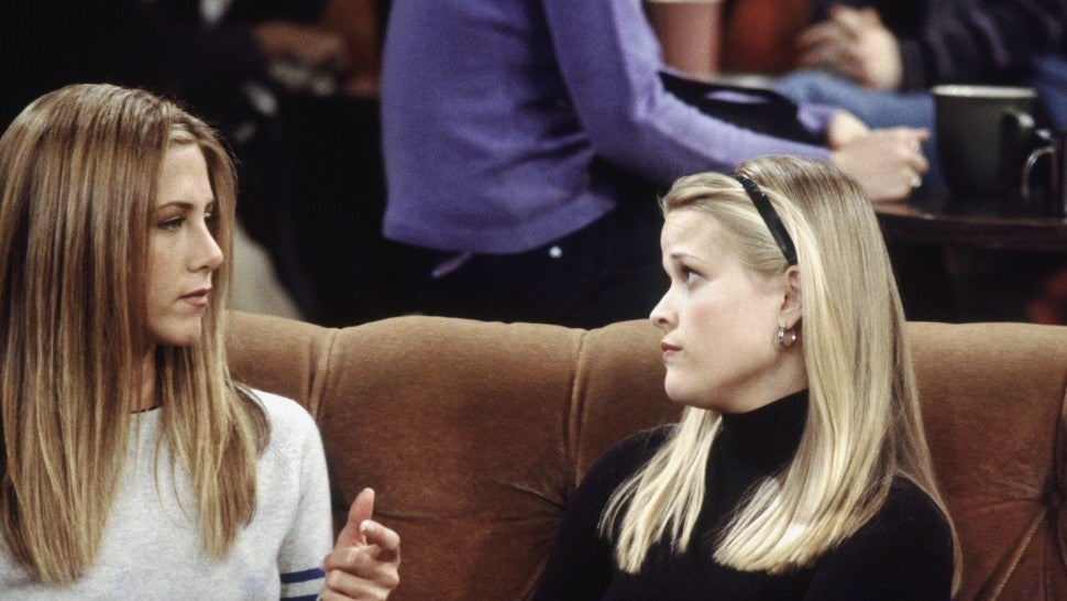 jennifer aniston and reese witherspoon on friends