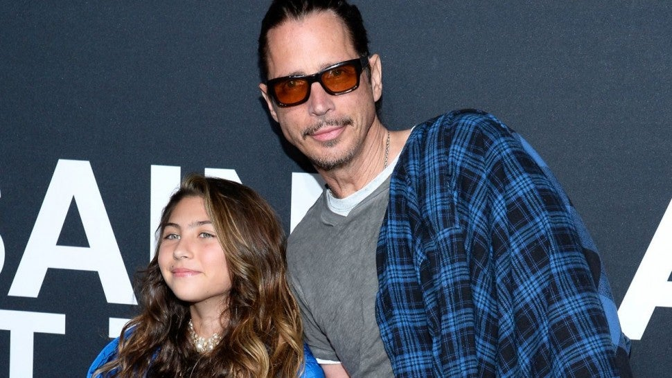 Chris Cornell and daughter Toni Cornell
