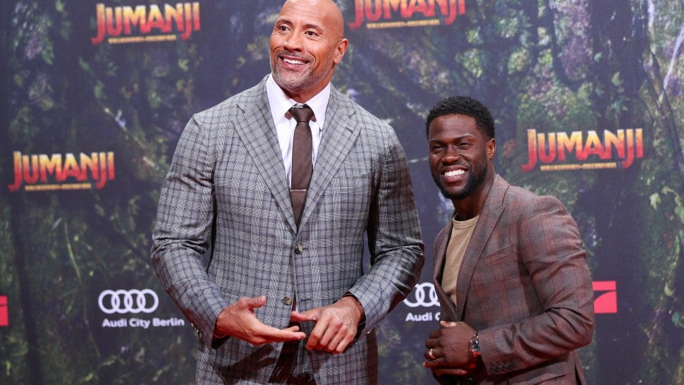 Dwayne Johnson and Kevin Hart