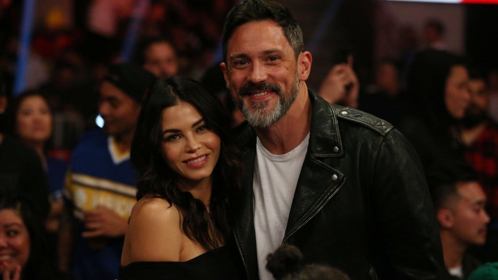 jenna dewan and steve kazee at wwe