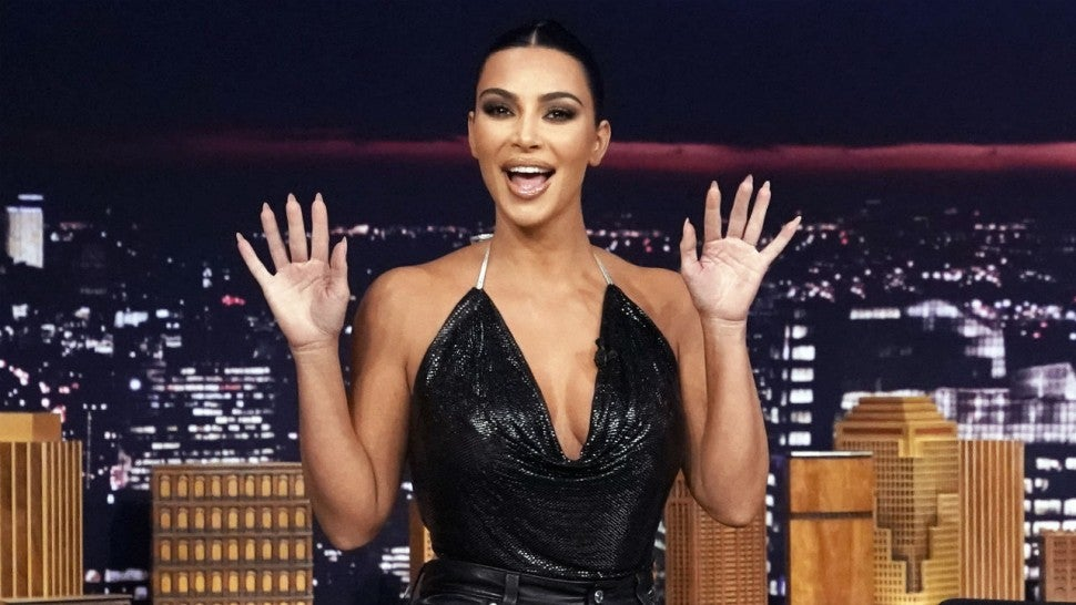 Kim Kardashian Dishes on New Shapewear Line and Life With 4 Kids