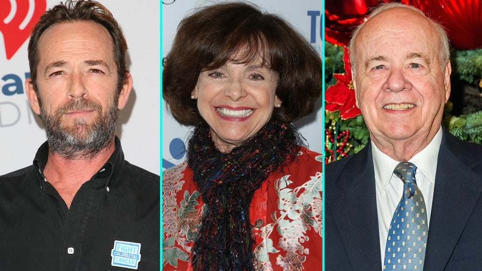 Luke Perry, Valerie Harper and Tim Conway