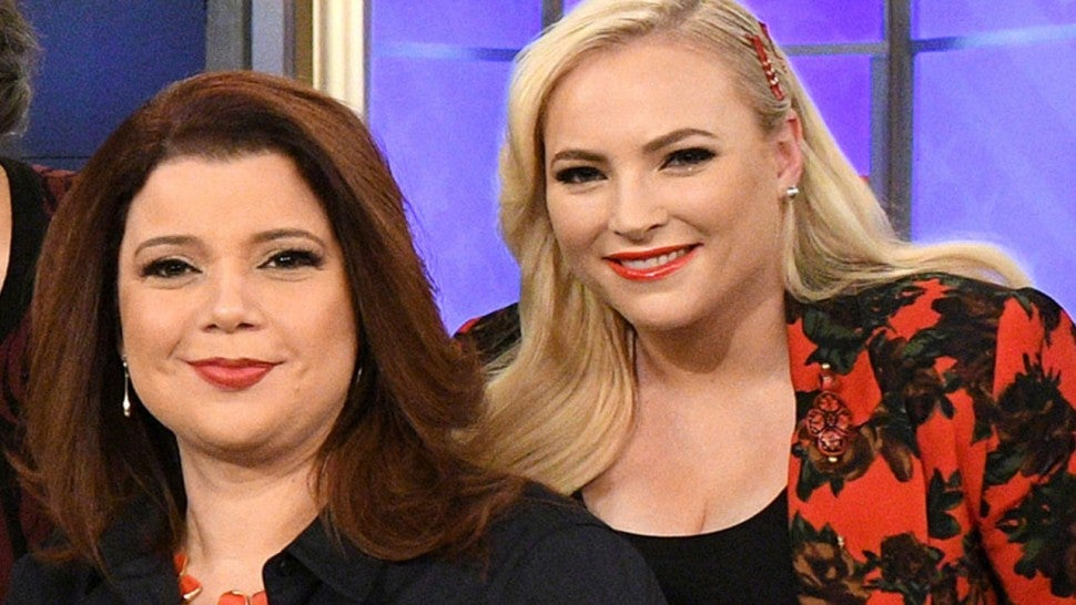Meghan McCain Walks off 'The View' Set After Tense Ana Navarro Argument