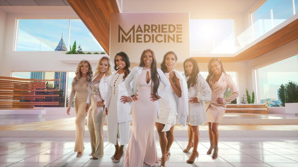 The cast of Bravo's 'Married to Medicine.'