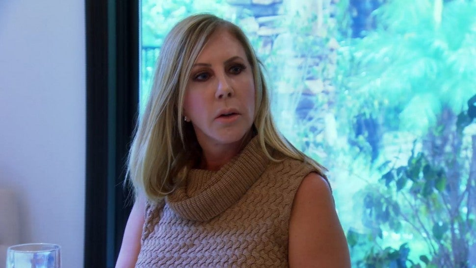 Vicki Gunvalson gets advice from Shannon Beador and Tamra Judge on Bravo's 'Real Housewives of Orange County.'