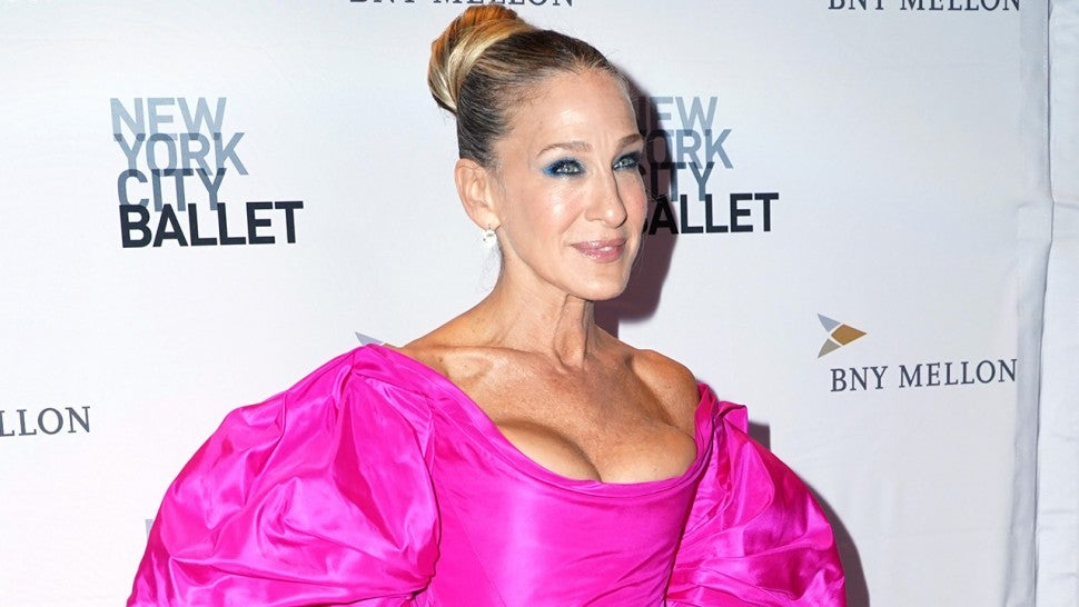 Sarah Jessica Parker pink gown 1280